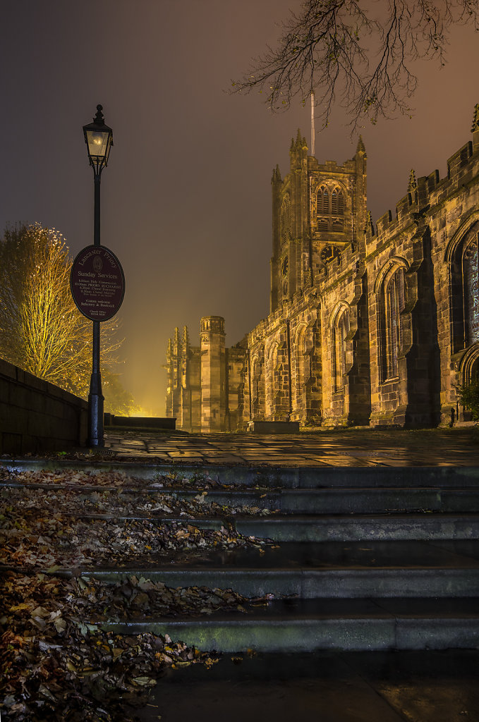 Lancaster Priory by Gary Barton