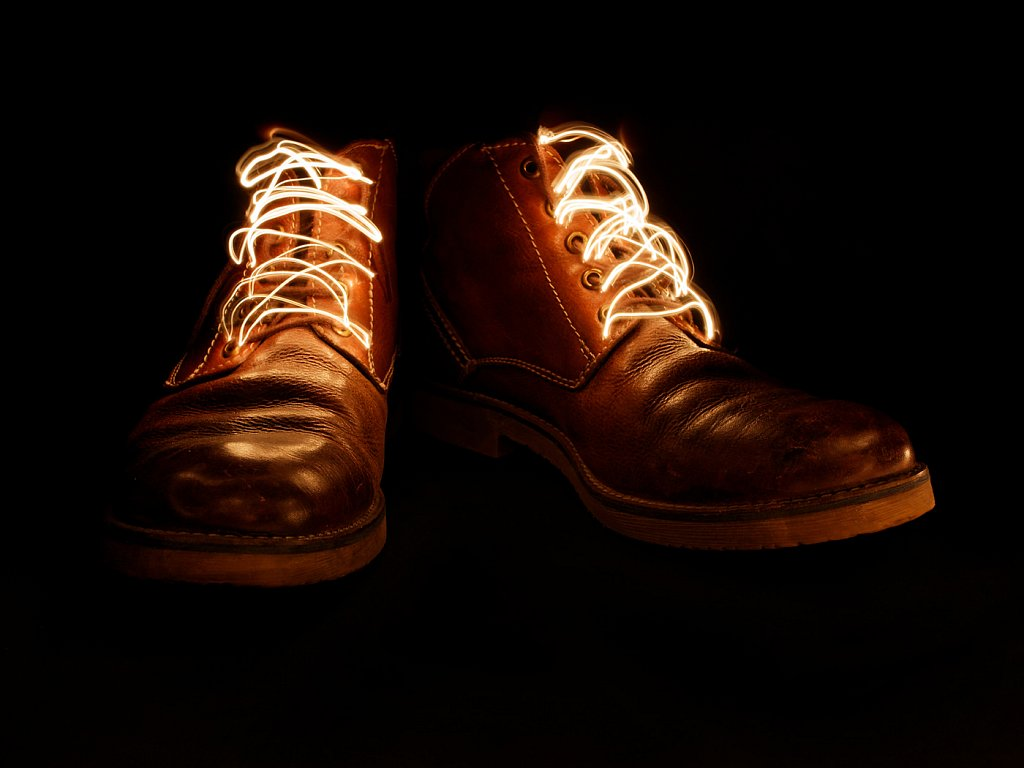 Boot Laces (c) Nigel Sleightholm [Commended]